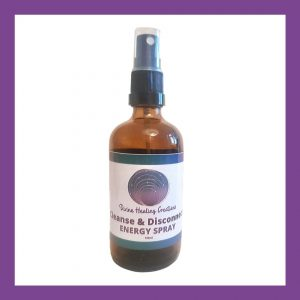 Cleanse & disconnect Energy Spray