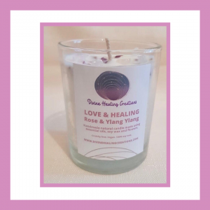 Love & Healing Soy Wax Candle